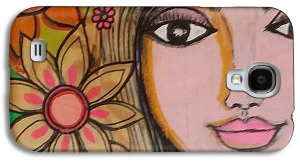 Beautiful Galaxy S4 Case - Working On A New #girliegirl On by Robin Mead