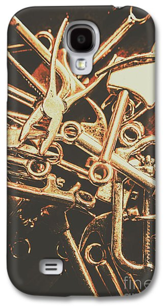 Workshop Abstract Galaxy S4 Case by Jorgo Photography - Wall Art Gallery