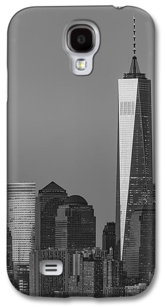 World Trade Center Downtown Manhattan Bw Galaxy S4 Case