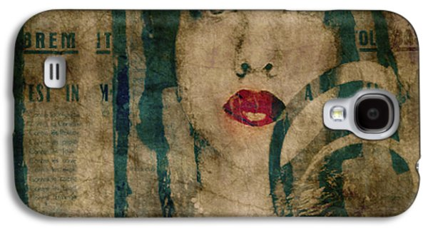 World Without Love  Galaxy S4 Case by Paul Lovering