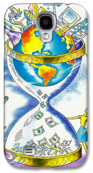 Worldwide Investing And Profit Galaxy S4 Case by Leon Zernitsky