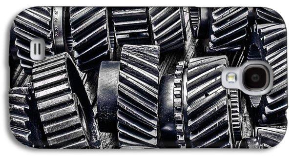 Worn Graphic Gears Galaxy S4 Case