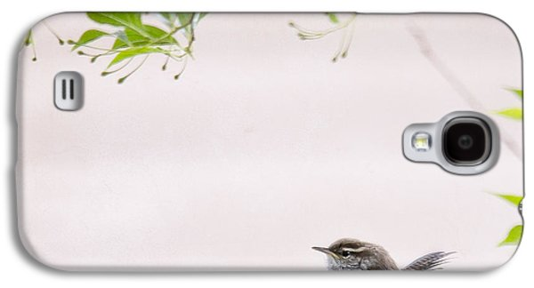 Wren Galaxy S4 Case - Wren 3 by Rebecca Cozart