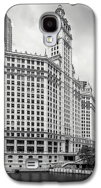 Galaxy S4 Case featuring the photograph Wrigley Building Chicago by Adam Romanowicz