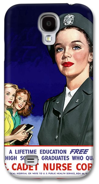 Ww2 Us Cadet Nurse Corps Galaxy S4 Case by War Is Hell Store