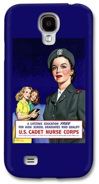 Ww2 Us Cadet Nurse Corps Galaxy S4 Case