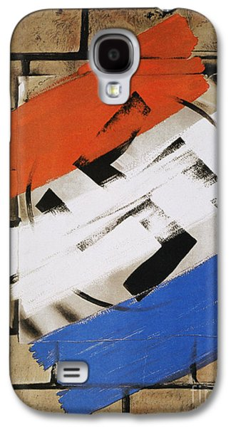 Wwii: Anti-nazi Poster, 1944 Galaxy S4 Case
