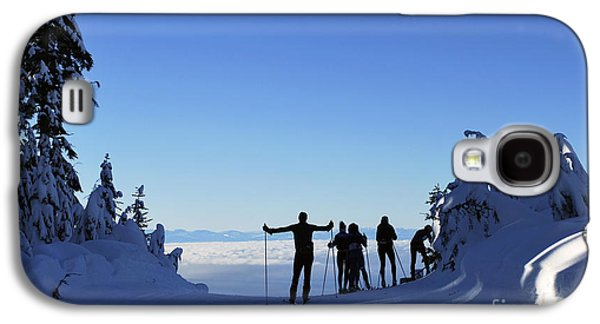 X-country Skiing  Galaxy S4 Case by Bill Thomson