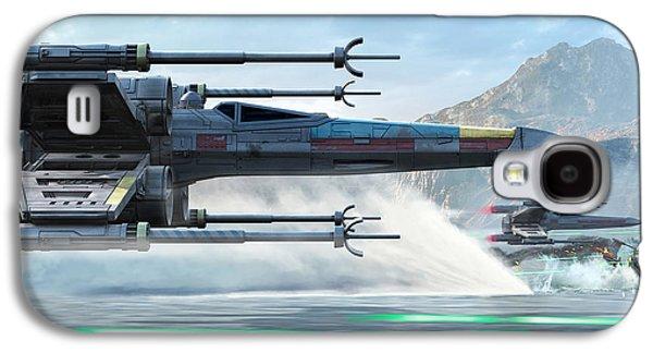 X-wing Full Throttle  Galaxy S4 Case