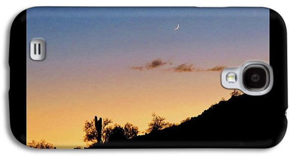 Y Cactus Sunset Moonrise Galaxy S4 Case