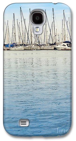 Yachts At Sea Galaxy S4 Case by Svetlana Sewell