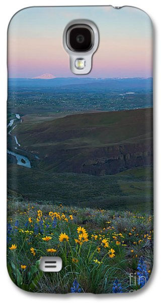 Yakima River Dawn Galaxy S4 Case by Mike Dawson