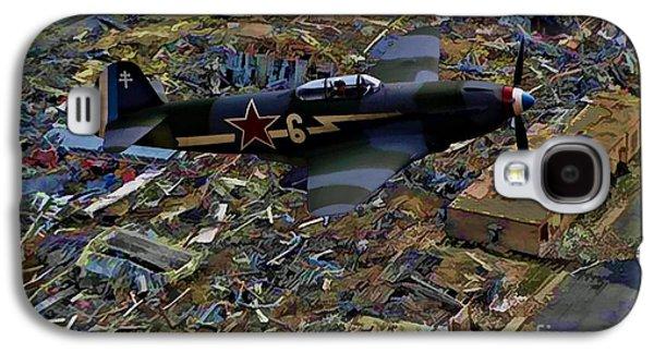 Yakovlev Yak 3 Soviet - Oil Galaxy S4 Case