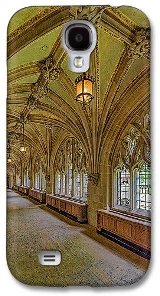 Yale University Cloister Hallway II  Galaxy S4 Case