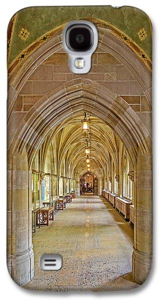 Yale University Cloister Hallway Galaxy S4 Case