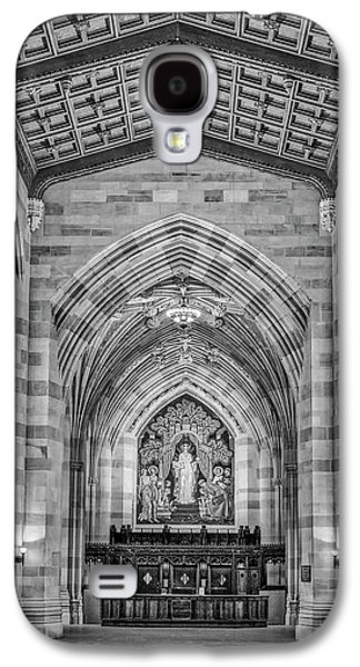 Yale University Sterling Memorial Library Bw  Galaxy S4 Case