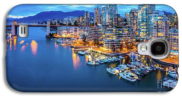 Yaletown Panorama Galaxy S4 Case by Inge Johnsson