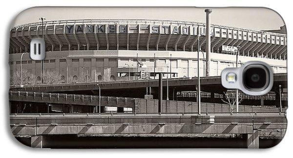 Yankee Stadium Galaxy S4 Case - Yankee Stadium    1923  -  2008 by Daniel Hagerman