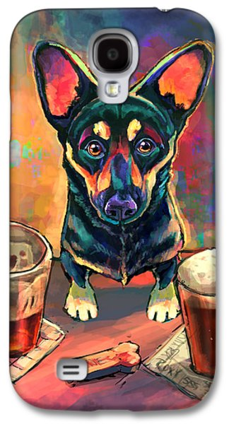 Beer Galaxy S4 Case - Yappy Hour by Sean ODaniels