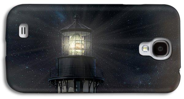 Yaquina Head At Night Galaxy S4 Case