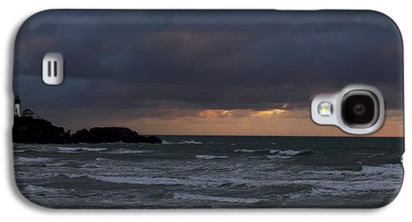 Yaquina Head From Agate Beach Galaxy S4 Case by Michael Degnan