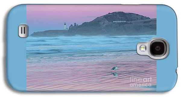Yaquina Twilight Reflections Galaxy S4 Case by Richard Sandford