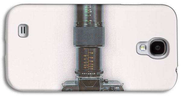 Yashica Fx-3 With 90mm Lens Galaxy S4 Case by Scott Norris