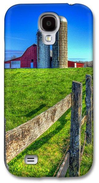 Years Gone By Tennessee Farm Art Galaxy S4 Case by Reid Callaway