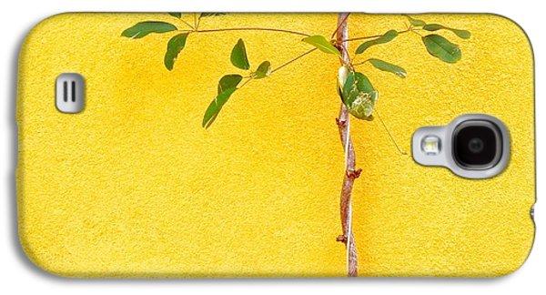 Galaxy S4 Case - Yellow #2 by Julie Gebhardt
