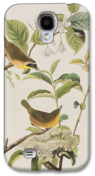 Yellow-breasted Warbler Galaxy S4 Case by John James Audubon