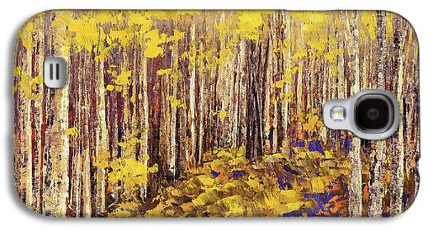 Yellow Brick Road Galaxy S4 Case by Tatiana Iliina