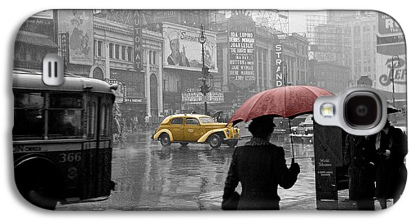 Yellow Cabs New York 2 Galaxy S4 Case by Andrew Fare