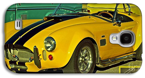 Yellow Cobra Galaxy S4 Case by Gwyn Newcombe