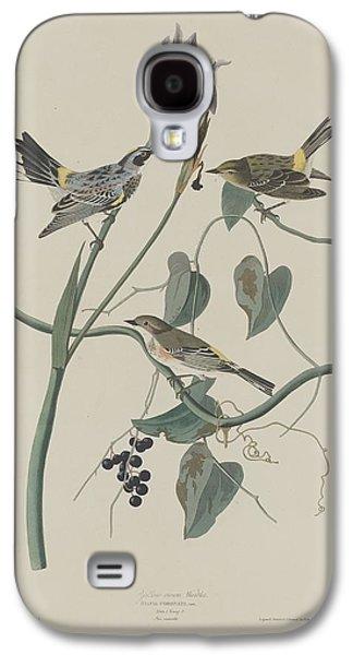 Yellow-crown Warbler Galaxy S4 Case by Anton Oreshkin