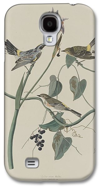 Warbler Galaxy S4 Case - Yellow-crown Warbler by Dreyer Wildlife Print Collections