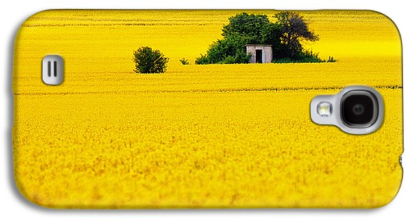 Yellow Galaxy S4 Case by Evgeni Dinev