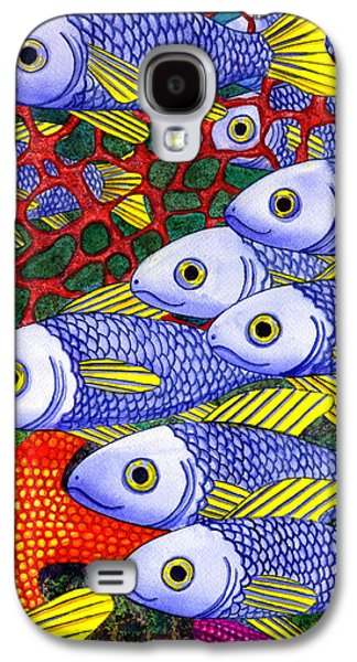 Yellow Fins Galaxy S4 Case by Catherine G McElroy