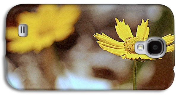 Yellow Flower Galaxy S4 Case