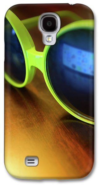 Yellow Goggles With Reflection Galaxy S4 Case by Carlos Caetano