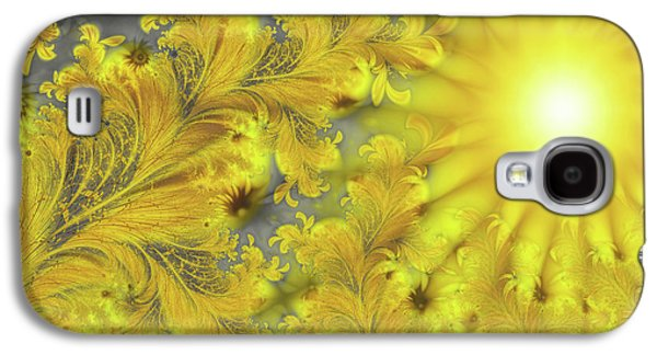 Yellow Morning Galaxy S4 Case by Mindy Sommers