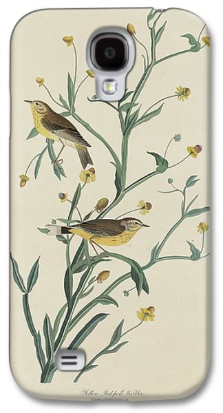 Warbler Galaxy S4 Case - Yellow Red-poll Warbler by Dreyer Wildlife Print Collections
