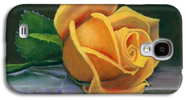 Yellow Rose Galaxy S4 Case