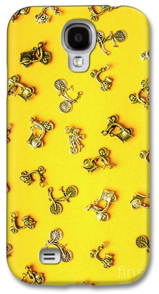 Yellow Summer Transport Galaxy S4 Case by Jorgo Photography - Wall Art Gallery