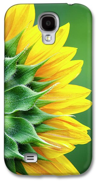 Yellow Sunflower Galaxy S4 Case by Christina Rollo