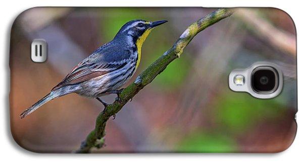 Warbler Galaxy S4 Case - Yellow-throated Warbler by Rick Berk
