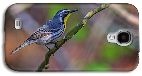 Yellow-throated Warbler Galaxy S4 Case by Rick Berk