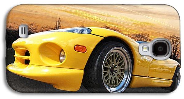 Yellow Viper Rt10 Galaxy S4 Case by Gill Billington
