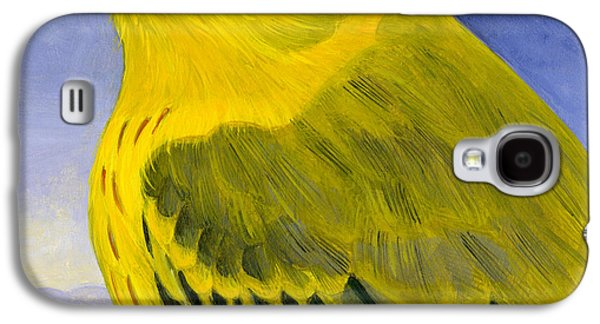 Yellow Warbler Galaxy S4 Case by Francois Girard