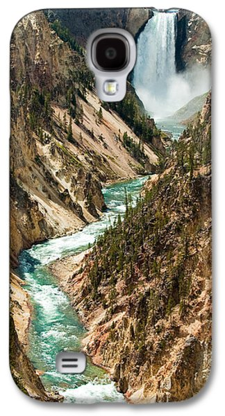 Yellowstone Waterfalls Galaxy S4 Case