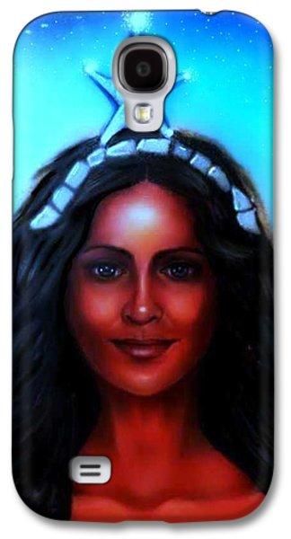 Yemaya -mother, Goddess, Warrior Galaxy S4 Case by Carmen Cordova